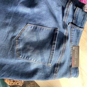 Avenue 32 NWT Straight Leg Butter Denim Jeans